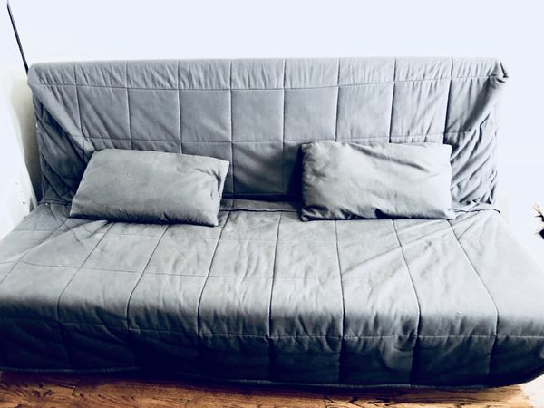 Nyhamn Ikea Futon Sofa Bed W Cover Pillows For In Chicago Il Offerup