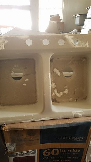 Fiberglass acrylic sink for Sale in San Bernardino, CA - OfferUp