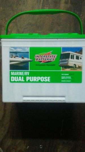 Interstate Deep Cycle Marine Battery >> Interstate Marine R V Deep Cycle Dual Purpose For Sale In Eugene Or Offerup