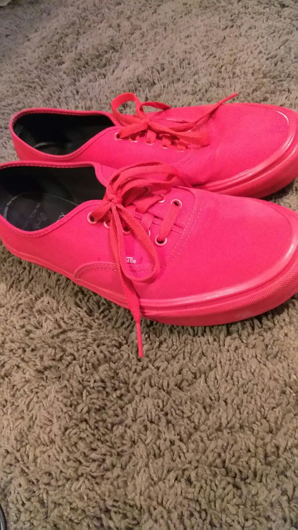 9fb0900889 All Red Low Top Vans for Sale in Newport News