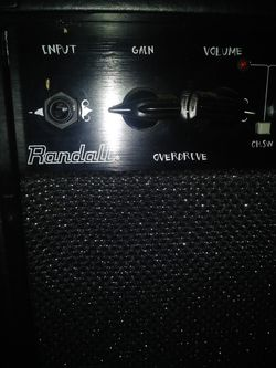 Randall RD50 custom Thumbnail