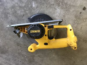 Dewalt 18 volt Circular saw and drill and electric motor for Sale in Baltimore, MD