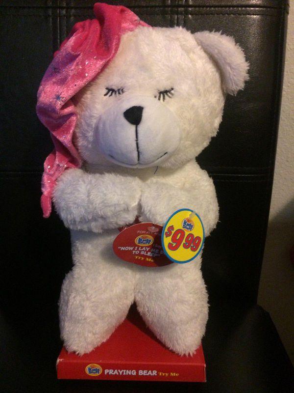 Brand New Praying Teddy Bear 7 General In Moreno Valley Ca Offerup