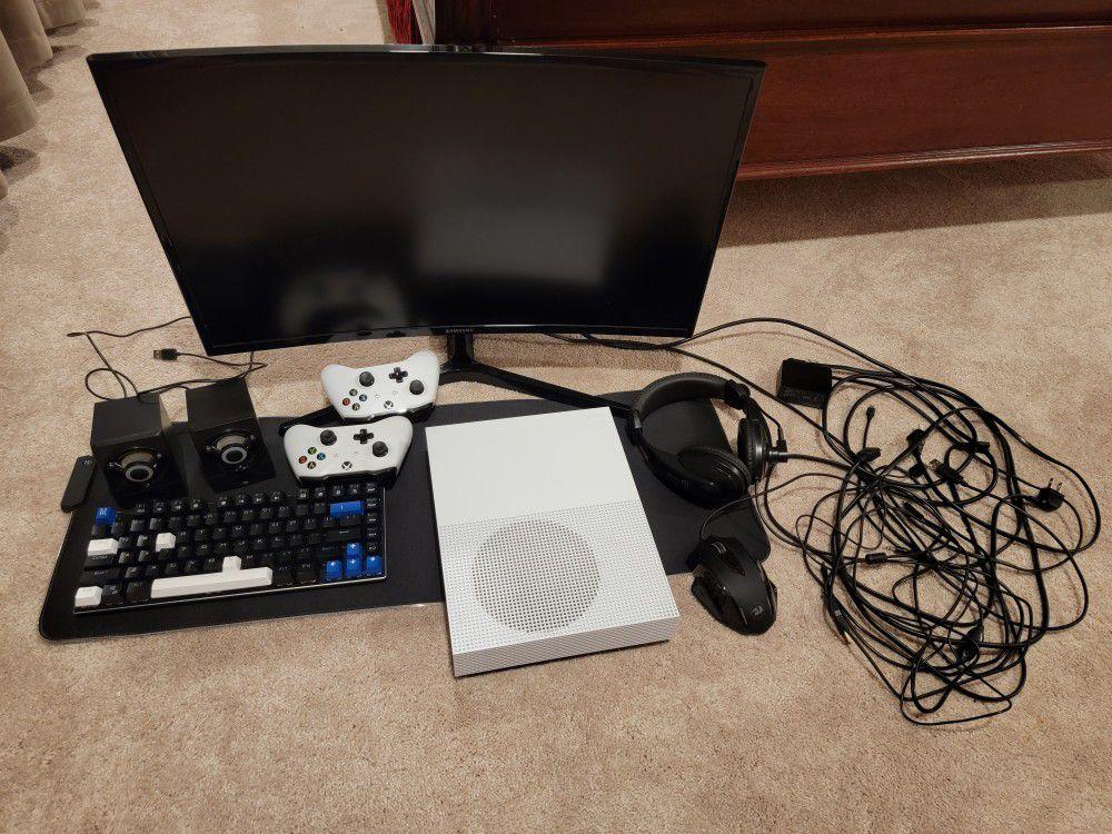 Xbox One S Gaming Setup