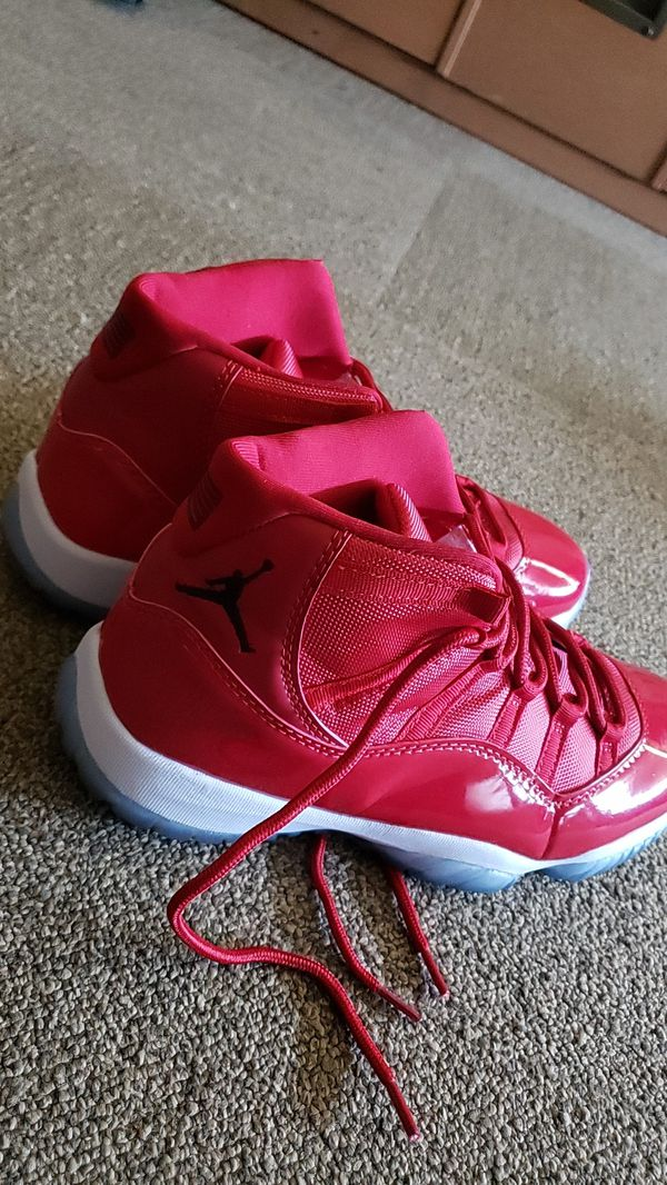 more photos cf3a6 0a790 Brand new never been worn win like 96 red Jordan's 11 for Sale in Imperial  Beach, CA - OfferUp