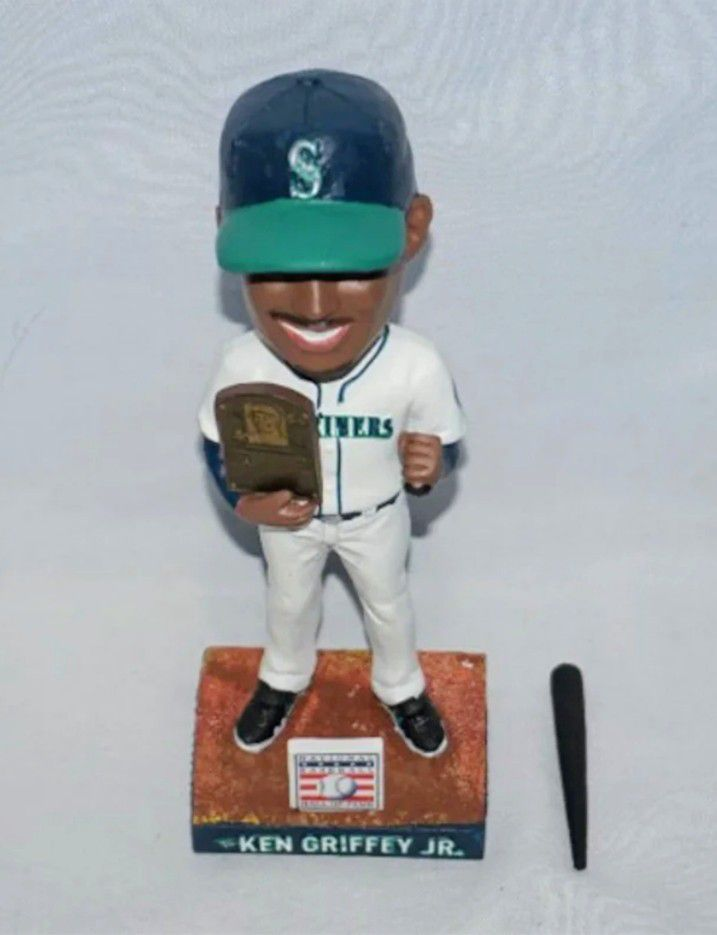 Seattle Mariners Ken Griffey Jr Hall of The Fame Bobblehead 2016