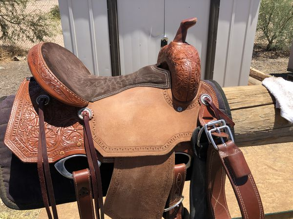 Corriente barrel saddle for Sale in Mesa, AZ - OfferUp