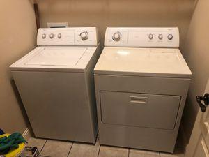Photo Whirlpool washer/dryer set