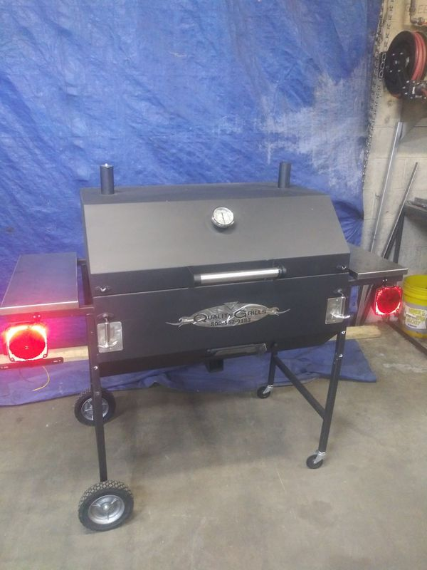 Quality grills inc  Custom bbq grill with slide in trailer hitch adapter  for Sale in Hazel Park, MI - OfferUp