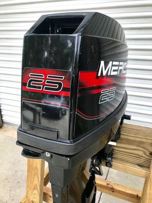 1999 Mercury 25hp outboard boat motor for Sale in Naples, FL