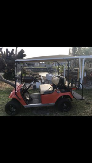 Ezgo old cart Trojan batteries 48v for Sale in Key Biscayne, FL