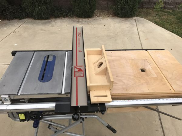 Kobalt Table Saw With Vega Pro 40 Fence Upgrade And Built