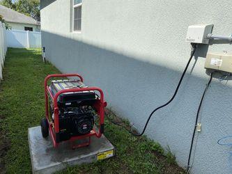 Generator plug and safety interlock Thumbnail