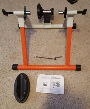 Conquer Indoor Bike Trainer Portable Exercise Bicycle Magnetic Stand for Sale in Apache Junction, AZ
