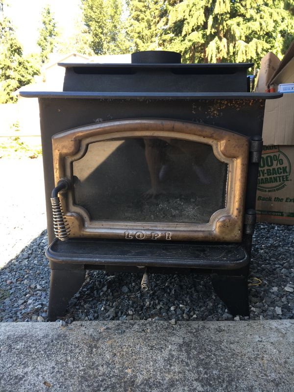 Lopi Wood Stove Model 380 440 For Sale In Lake Stevens Wa