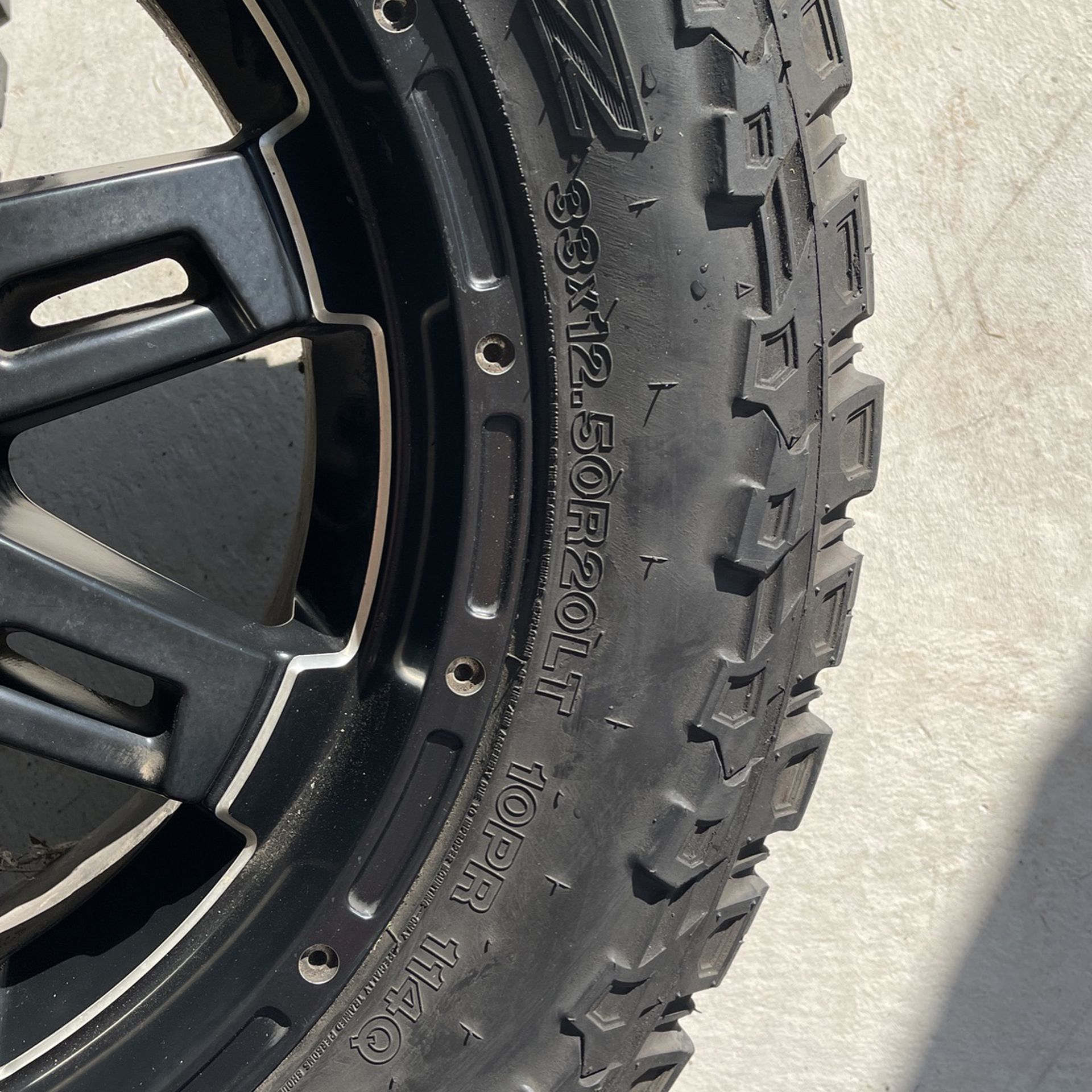 20' Rims And Tires Balanced Ready To Mount