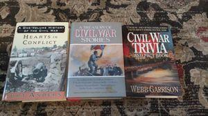 3 Civil War books for Sale in Tampa, FL