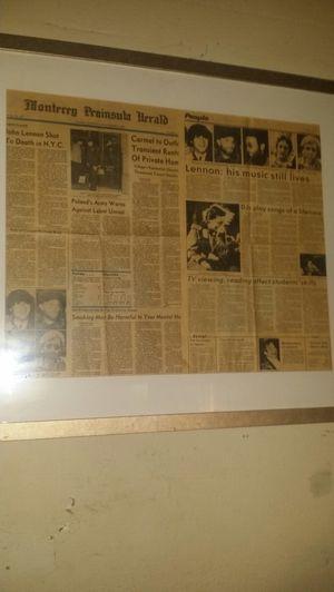John lennon articles for Sale in Las Vegas, NV