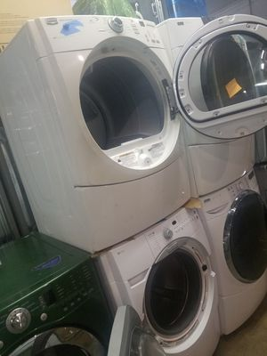 Maytag front load washer and dryer set working perfectly for Sale in Baltimore, MD