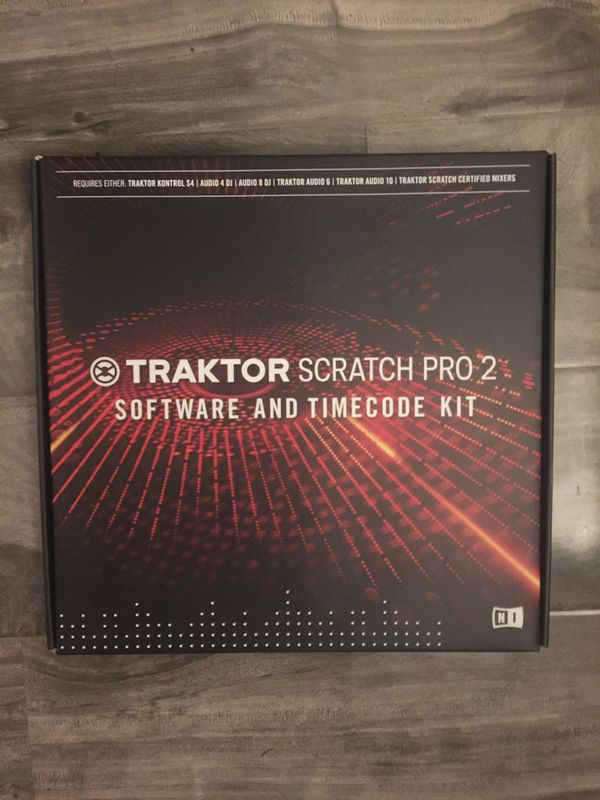 Traktor Scratch Pro 2 Software & Timecode Kit for Sale in Los Angeles, CA -  OfferUp