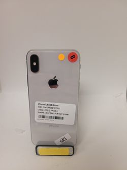 IPHONE X 64 GB FULLEY UNLOCKED TO ANY CARRIER ON SPECIAL PRICE ONLY FOR TODAY  Thumbnail