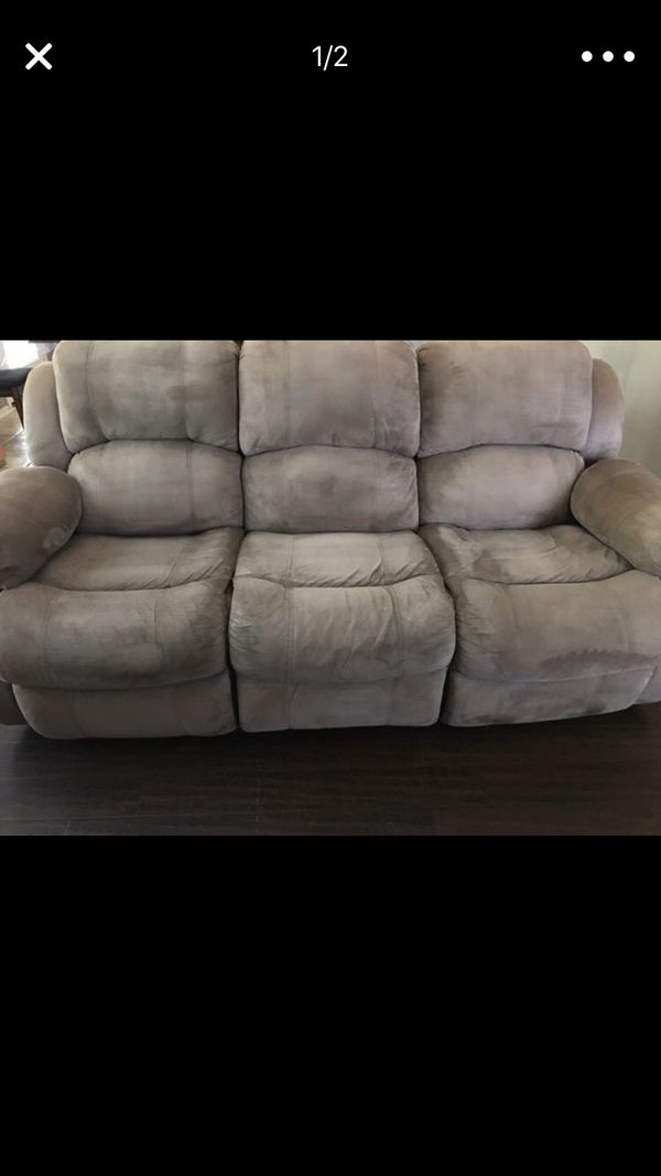 Ashley Furniture Reclining Sofa Set For Sale In Austin Tx Offerup