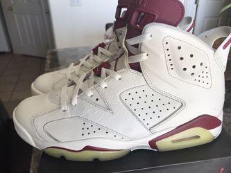 Jordan 6 OG Maroon Thumbnail
