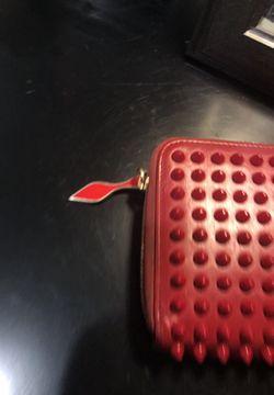 christian loubutin wallet Thumbnail