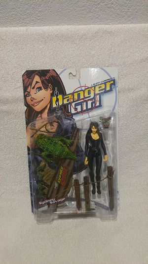 Danger Girl Sydney Savage action figure for Sale in Valencia, CA