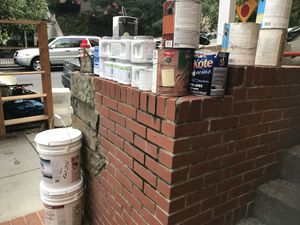FREE - Paint, Garage shelves, patio chairs, garden tools, more... for Sale in Washington, DC