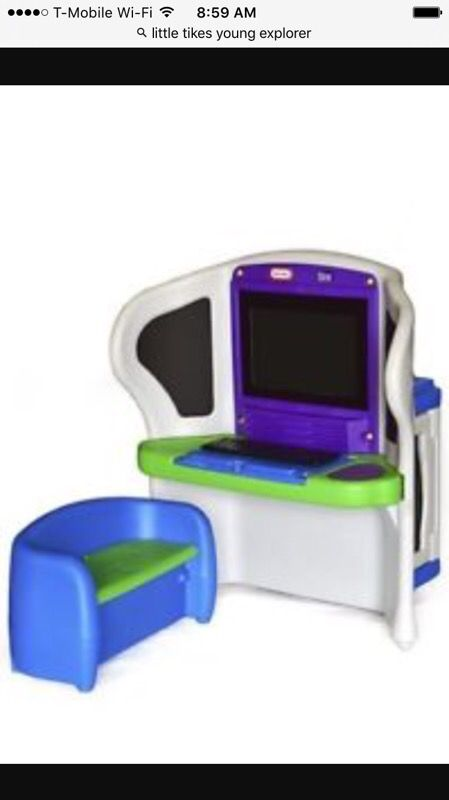 Little Tikes Young Explorer Kids Computer Desk For Sale In