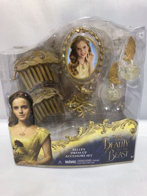 Photo Beauty and the Beast Disney Princess Belle's Dress Up Accessory Set