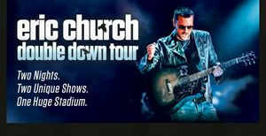 2 Tickets to Eric Church Fri Feb 1 TD Garden. Floor Seats Section A row 2 for Sale in Boston, MA
