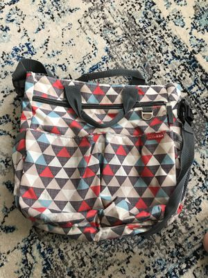 Skip Hop Diaper Bag with changing pad for Sale in Waldorf, MD