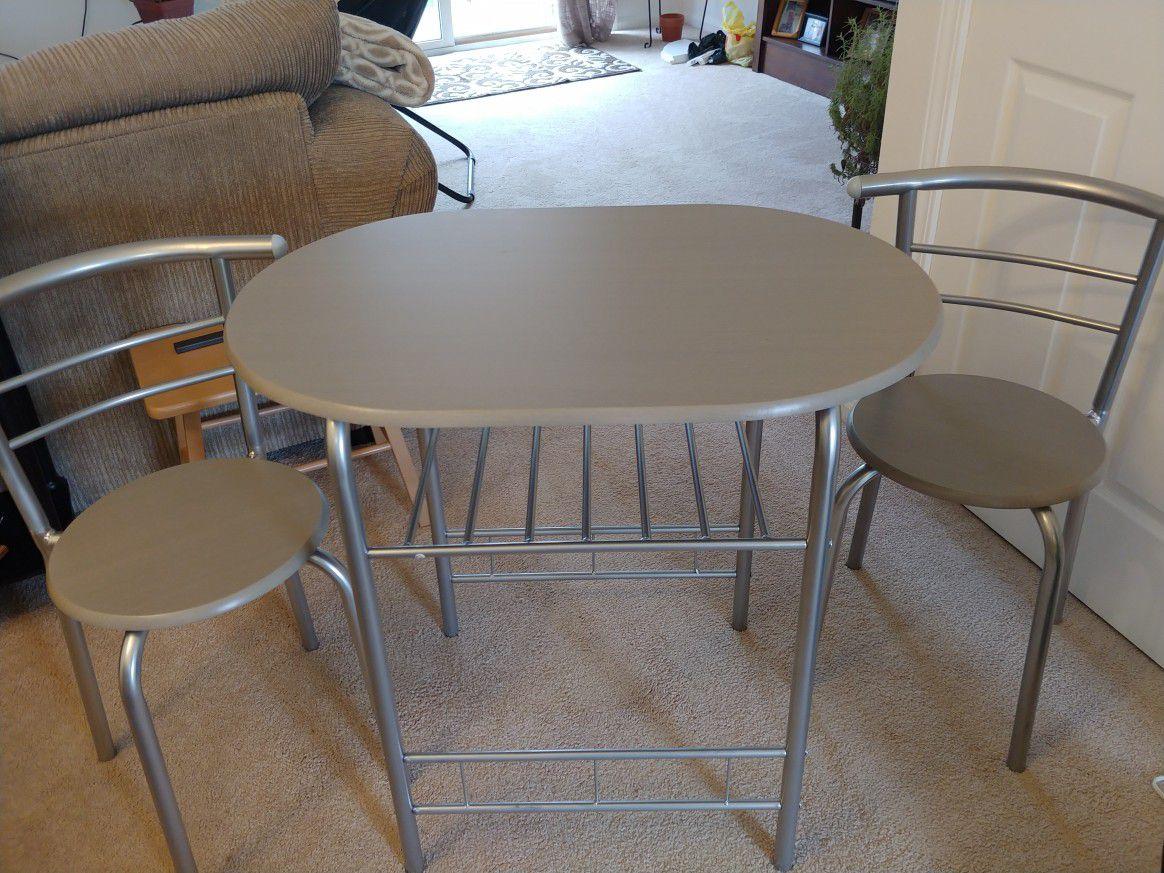 Small kitchen table set