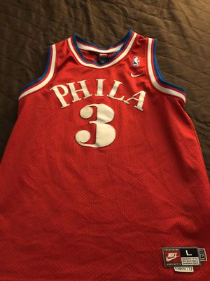 new arrival 85cf4 42383 Allen Iverson Jersey for Sale in Naperville, IL - OfferUp