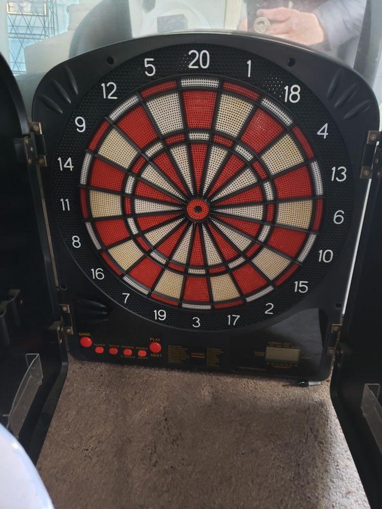 Coca cola electronic dartboard
