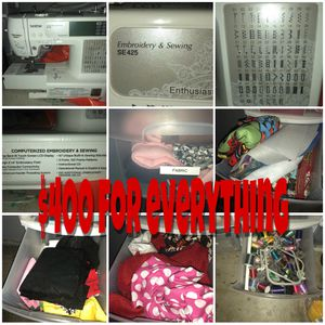 Brother embroidery sewing machine for Sale in Los Banos, CA