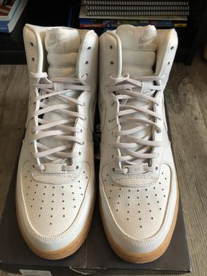 High Top Air Force One.. Cream with gum bottom for Sale in Alexandria, VA
