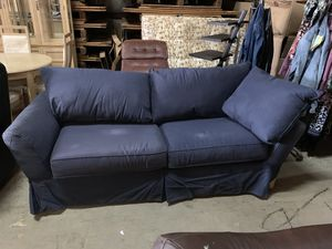 Sofa, Blue. Affordable Price for Sale in Cleveland, OH