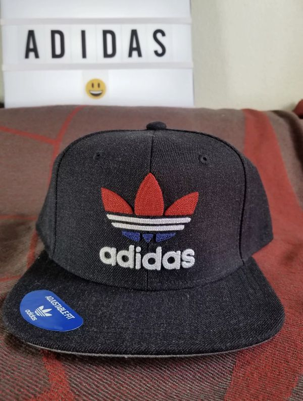 New Adidas Men s Originals Snapback Flatbrim Cap 7d747fc7f91b