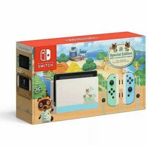 Photo Nintendo Switch Animal Crossing: New Horizon Limited Edition 32gb