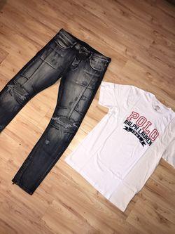 Brand new premium denim Rock Star Jeans Thumbnail