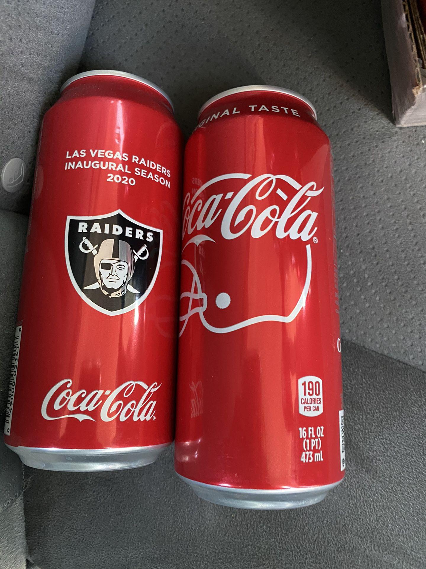 Raiders coke can