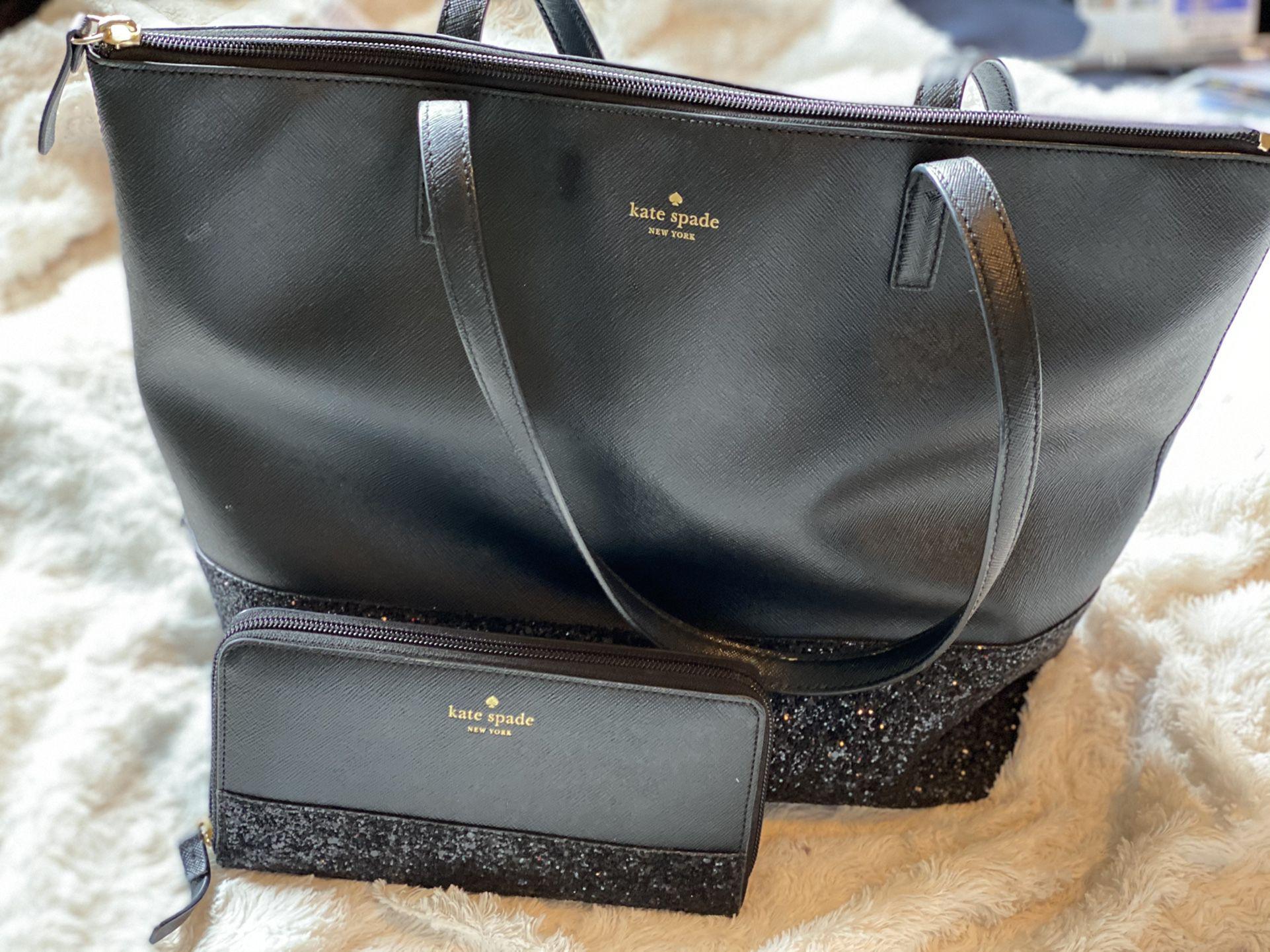 Kate Spade Purse & Matching Wallet