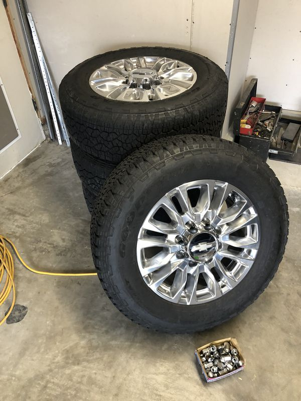 "20"" Chevrolet Silverado 2500 HD High Country factory ..."