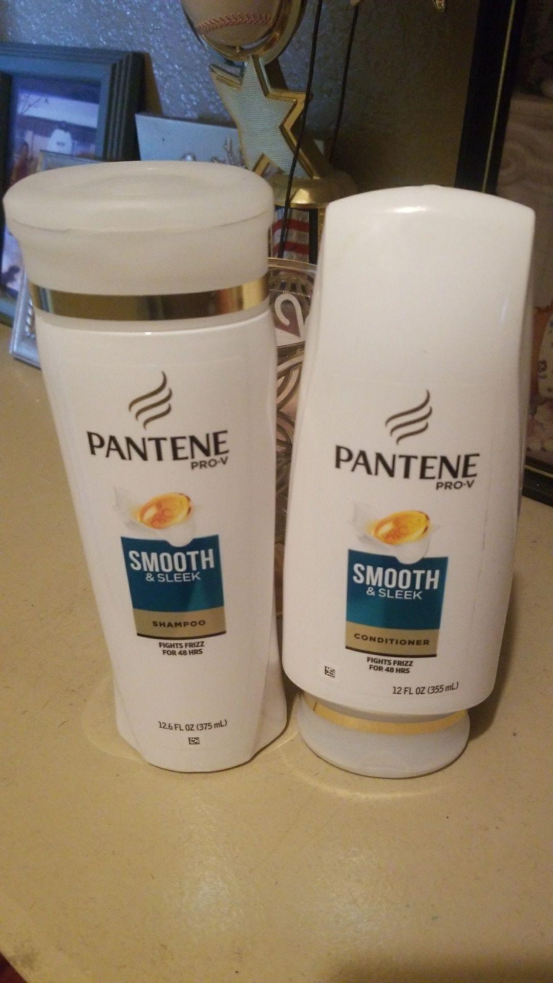Pantene shampoo and conditioner set
