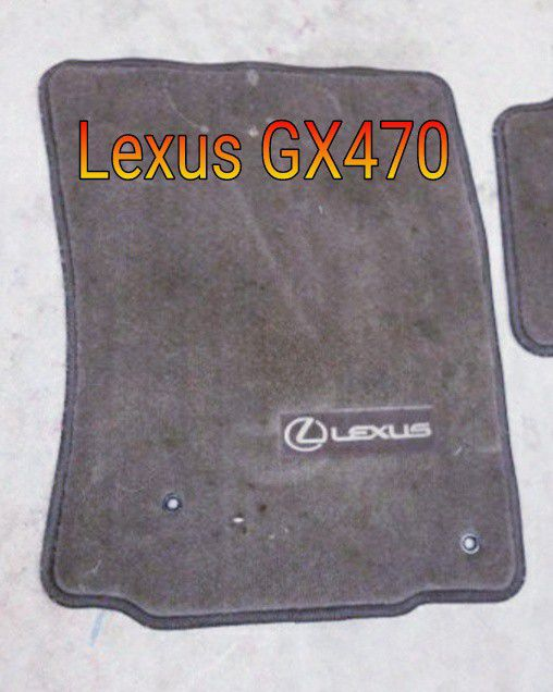 LEXUS GX470 FLOOR MATS for Sale in Weston, FL - OfferUp