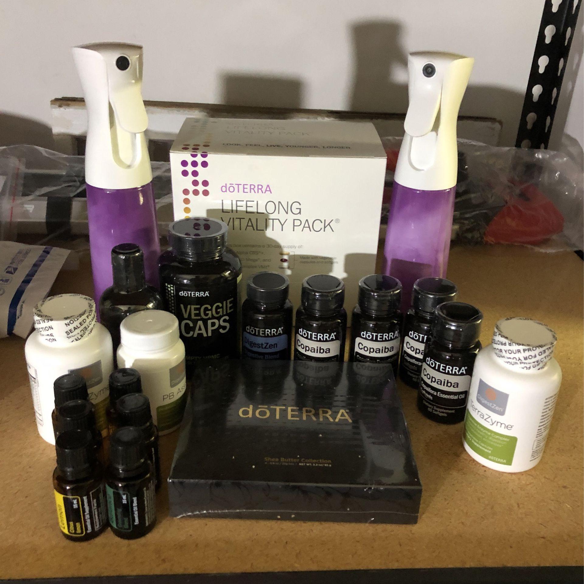 Doterra Essential Oils - supplements - sprays Full Set