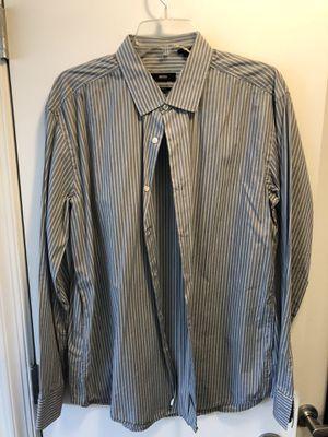 Fourteen (14) Designer Name Men's Dress Shirts, Size Large for Sale in Washington, DC